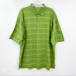 FAIRWAY & GREENE Golf Polo Shirt Embroidered Logo